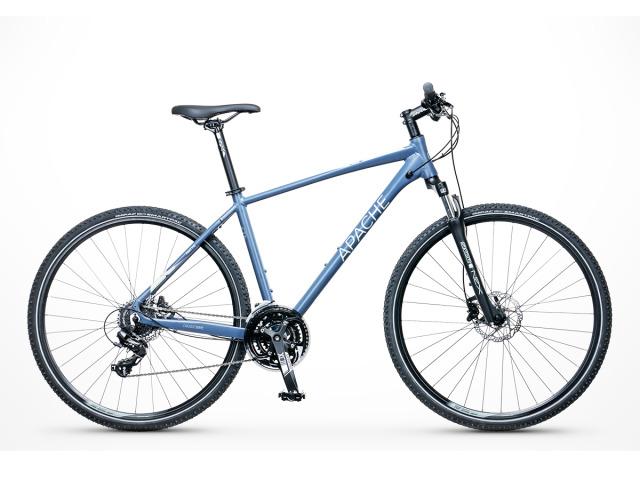Horský bicykel českej značky Apache.