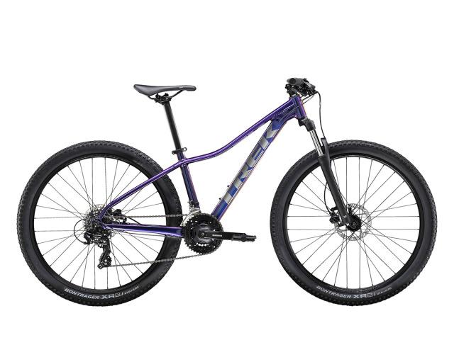 Marlin 5 WSD je dokonale šitý bicykel pre dámy na každodenné dobrodružstva, nie len na trailoch ale aj mimo nich. Odpružená vidlica, 21 rýchlostí, príprava na stojan a nosič predstavujú ideálnu voľbu pre začiatočníkov, ktorí chcú pohodlný a stabilný bicykel s odolnosťou skutočného horského bicykla.