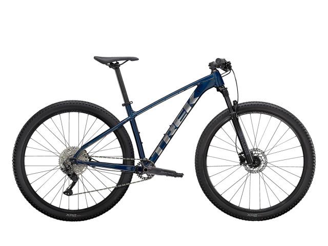 X-Caliber 7 je perfektný vstup do rýchlej XC kategórie. Je to plne zdatný hardtailový bicykel s kvalitnými komponentmi kde na nich záleží najviac, ako napríklad RockShox vidlica, Shimano pohon a hydraulické kotúčové brzdy.
