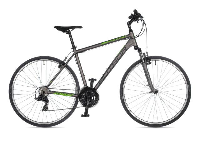 Jednoduchý trekingový bicykel od značky Author, ktorý vám spríjemní chvíle vo voľnom čase. Nápomocný bude určite aj pri mestských povinnostiach, či už na cestu do práce, do školy, alebo na nákup.