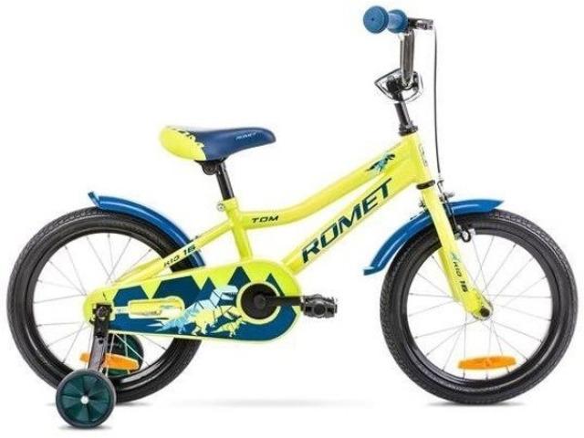 Detský bicykel značky Romet, vhodný pre deti od 4 rokov. Prvé šliapnutia do pedálov vašich malých ratolestí budú veľkou zábavou. Vďaka oceľovej konštrukcií je bicykel veľmi odolný a spoľahlivý v každej situácií. Pridávne kolieska zaiste prinesú viac bezpečnosti pri jazde.