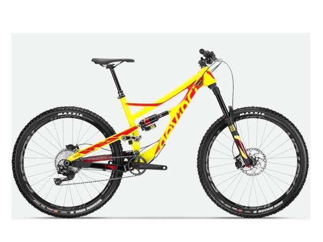 Veľmi kvalitne spracovaný bicykel od Kanadského výrobcu DEVINCI.